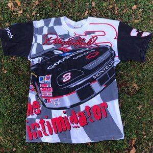 Vintage Dale Earnhardt All Over Print T Shirt